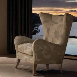 Кресло Fratelli Barri Rimini, серебро/ткань FB.ACH.RIM.675