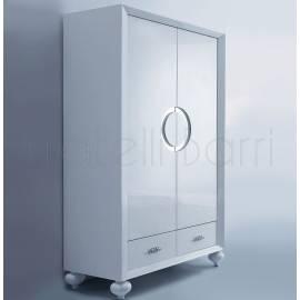 Шкаф 2-дверный Fratelli Barri Palermo, белый лак, FB.WR.PL.53