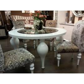 Обеденный стол Fratelli Barri Palermo, белый лак, FB.DT.PL.42