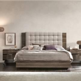 Кровать 180x200 Status Medea, с мягким изголовьем,  MEBVOLT07