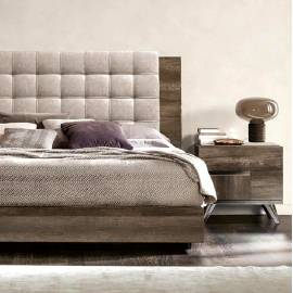 Кровать 180x200 с мягким изголовьем Status Medea MEBVOLT07