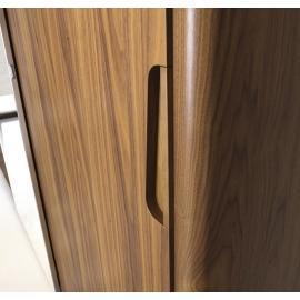 Шкаф-купе 2-х дверный, 1 дверь с зеркалом Camelgroup Luna Noce 151ARS.03NO