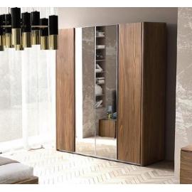 Шкаф 2-х дверный с зеркалами Camelgroup Luna Noce 151AR2.02NO