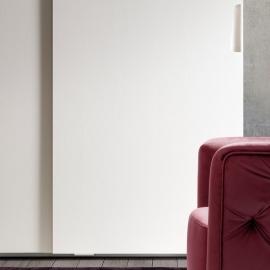 Шкаф-купе 2-дверный, 1 дверь с зеркалом Camelgroup Luna Frassino 151ARS.03FR