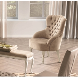 Кресло Camelgroup Giotto Bianco 157POL.01BAMS338
