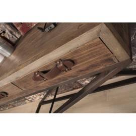Журнальный стол состаренное дерево TY183 L'art domestique