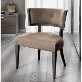 Кресло Camelgroup Maia KLEO, ткань MIRAGLIO COL. 205 FUMO