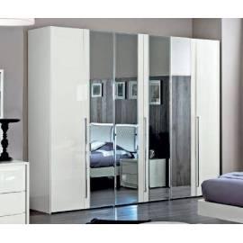 Шкаф 6 створок с зеркалами Dama Bianca Camelgroup 140AR6.06BI