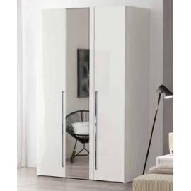 Шкаф 3 створоки без зеркал Dama Bianca Camelgroup 140AR3.05BI