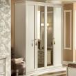 Шкаф 4-дверный Camelgroup Nostalgia Bianco Antico, высокий - Фото 1