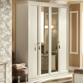 Шкаф 3-дверный Camelgroup Nostalgia Bianco Antico, низкий