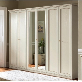 Шкаф 5-дверный Camelgroup Nostalgia Bianco Antico, низкий