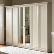 Шкаф 5-дверный Camelgroup Nostalgia Bianco Antico, высокий - Фото 1