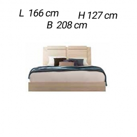 Кровать 160х200 Status Perla PLBWLLT04