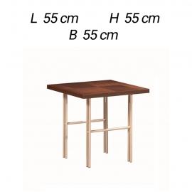Столик приставной 55х55 Alf Group Bellagio PJBE0625