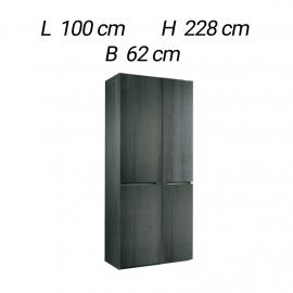 Шкаф 2-дверный Alf Group Athena PJAT0010