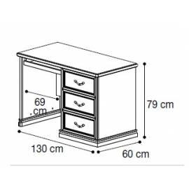 Письменный стол Nostalgia Camelgroup 130 см
