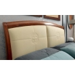 Кровать с кожаным изголовьем и изножьем Palazzo Ducale Ciliegio Prama 160 см - Фото 3