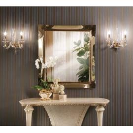 Зеркало малое золотое Arredo Classic Fantasia арт.231