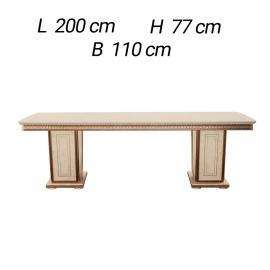 Обеденный стол 200х110 Arredo Classic Fantasia фиксированный