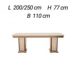 Обеденный стол 200/250х110 Arredo Classic Fantasia раскладной