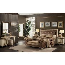 Кровать King Size 200х200 с мягким изголовьем Arredo Classic Fantasia арт.231