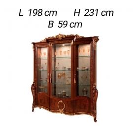 Витрина 3-дверная Arredo Classic Donatello