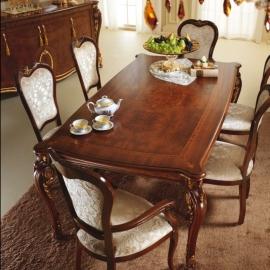 Стол обеденный 200/250х110 Arredo Classic Donatello раскладной с 1 вставкой