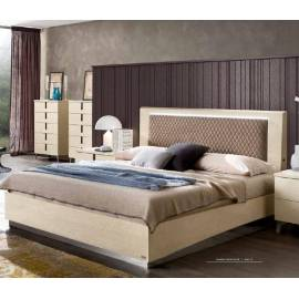 Кровать Rombi коллекции Ambra Camelgroup, 160 см темная обивка