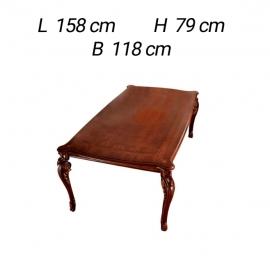 Стол квадратный раскладной 118/158 Arredo Classic Donatello