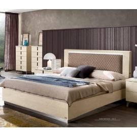 Кровать Rombi Ambra Camelgroup с контейнером, 160 см темная обивка 148LET.12AV