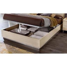 Кровать Rombi Ambra Camelgroup с контейнером, 160 см темная обивка