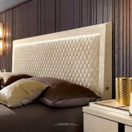 Кровать Rombi коллекции Ambra Camelgroup, 160х200, светлая обивка 148LET.14AV