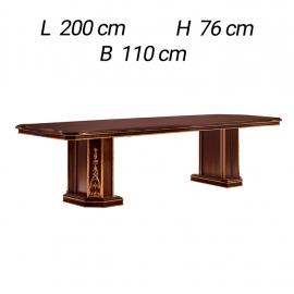 Стол обеденный 200х110 Arredo Classic Modigliani фиксированный