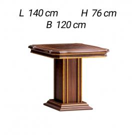 Стол обеденный квадратный 120/160х120 Arredo Classic Modigliani обеденный