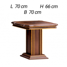 Квадратный стол для гостиной Arredo Classic Modigliani