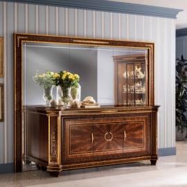 Зеркальная панель настенная Arredo Classic Modigliani