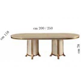 Стол обеденный 200/250х118 Arredo Classic Melodia, раскладной