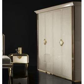 Шкаф 4-дверный Arredo Classic Adora Diamante