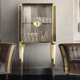 Витрина-бар 2-дверная Arredo Classic Adora Diamante двери стекло