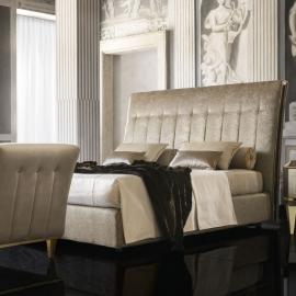 Кровать мягкая 180x200 Arredo Classic Adora Diamante, с контейнером