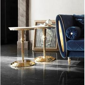 Столик приставной  ø65 h65 Arredo Classic Adora Sipario, круглый