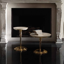 Столик приставной  50 h65 Arredo Classic Adora Sipario, круглый