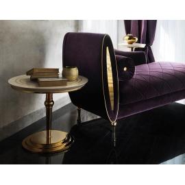 Столик приставной  ø50 h65 Arredo Classic Adora Sipario, круглый