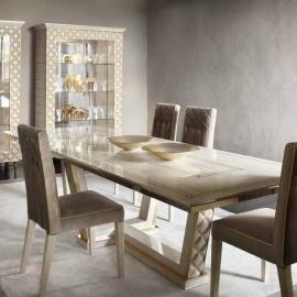 Стол обеденный 200/250х108 Arredo Classic Adora Sipario, раскладной