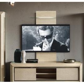 Панель ТВ Camelgroup Elite Sabbia с подсветкой LED и стеклянной полкой