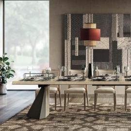 Стол обеденный TENT 200/300х105 Camelgroup Elite Sabbia раскладной