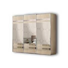 Шкаф-купе 3 дверный Ambra Camelgroup с зеркальными дверями
