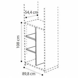 Разделитель Camelgroup для широкого отделения шкафа 108 см