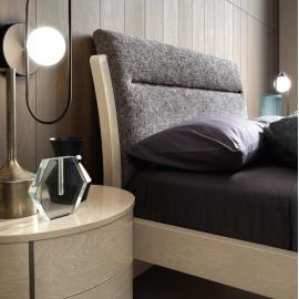 Кровать ORN Camelgroup Maia Sabbia 180х200, ткань Sake 129 col. 01
